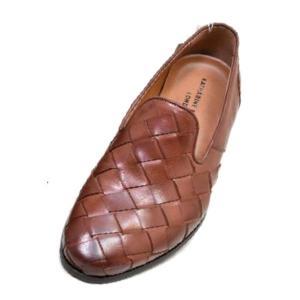 キャサリンハムネット 靴 メンズ KATHARINE HAMNETT KH31612 ブラウン メッ...