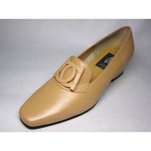 マドラス madras ITALY MDL1518 ベージュ バックル飾り レディース ドレス パンプス|shoes-maro