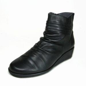 ミッシーマドラス missy madras MMD4603 ブラック 本革 レディース ショートブーツ|shoes-maro