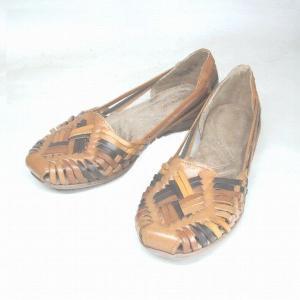 ナチュラライザー Naturalizer N205 ブラウンコンビ 本革 メッシュ フラットシューズ|shoes-maro