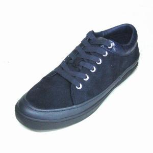 トラサルディ 靴 メンズ TRUSSARDI TR17006 ネイビースエード 本革 レザースニーカー|shoes-maro