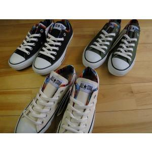 コンバース W サラペ CONVERSE ALLSTAR W SARAPE OX 白・黒・カーキ|shoes-smile