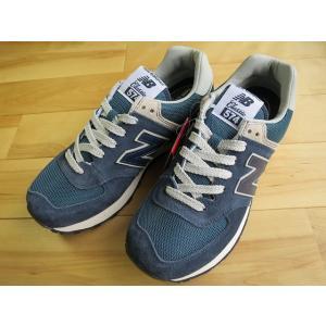 ニューバランス NB ML574 VN ネイビー  shoes-smile