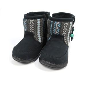 OSHKOSH オシュコシュ B98 ブラック 黒 ベビーシューズ|shoes-smile