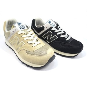 ニューバランス NB ML574 FBG(ブラック)、FBY(ベージュ) スニーカー 送料無料 shoes-smile