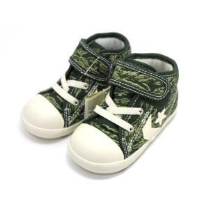 コンバース CONVERSE BABY CANVAS CHEVRONSTAR V-1 TCM(タイガーカモ) ベビーシューズ|shoes-smile