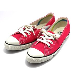 コンバース CONVERSE ALLSTAR オールスター ポインテッド ウォッシュドリネン OX レディース ピンク|shoes-smile