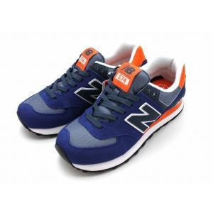 ニューバランス NB WL574 CPM(ネイビー/オレンジ) レディーススニーカー 送料無料 shoes-smile