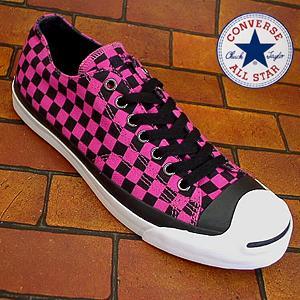 コンバース ジャックパーセル 2TN ピンク ブラック|shoes-sneakerkawa