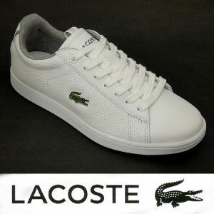 ラコステ レディースレザースニーカー CARNABY EVO CLS ホワイト 白 21G lacoste カーナビー wae005|shoes-sneakerkawa