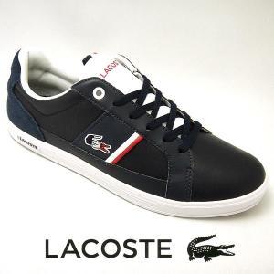 ラコステ ヨーロッパ メンズレザースニーカー EUROPA 317-1 ネイビー/ホワイト 紺/白 lacoste SPM0012-092|shoes-sneakerkawa