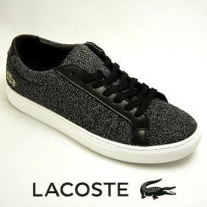 ラコステ L.12.12 317-3 メンズスニーカー ブラック 黒 lacoste CAM0032-024|shoes-sneakerkawa