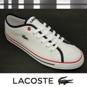 ラコステ レディースキャンバススニーカー ショアーSRW ホワイト lacoste shore srw w0009t|shoes-sneakerkawa