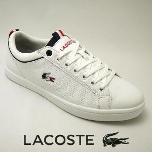 ラコステ ストレイトセットSP メンズレザースニーカー STRAIGHTSET SP 317-2 ホワイト 白 lacoste CAM0064-001|shoes-sneakerkawa