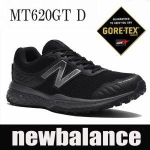 透湿防水GORE-TEX  ニューバランス ゴアテックス メンズトレールランニングスニーカー MT620 GT グレー/ブラック newbalance mt620GT|shoes-sneakerkawa