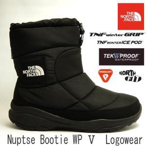 ノースフェイス メンズ防水透湿防寒スノーブーツ NORTH FACE nuptse bootie wp v logowear ヌプシ ブーティ ウォータープルーフ V ロゴウェア NF51784|shoes-sneakerkawa