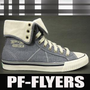 PFフライヤーズ スニーカー センターエクストラ ハイ ネイビー shoes-sneakerkawa