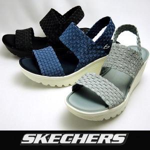 スケッチャーズ レディースウェッジサンダル Parallel Midsummers Weave 38461 SKECHERS SUNDAL|shoes-sneakerkawa