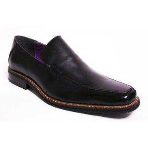 (28cm 30cm)(大きいサイズ)3E 本革ビジネスシューズ メンズ 日本製 FRANCESCO BIGAGLI  ヴァンプスリッポン 2916 黒  (大きい靴/ブラック)|shoes-sunnys