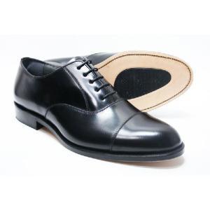 本革 革底 3E 高級ビジネスシューズ メンズ Brithish Classic ストレートチップ 6202 ブラック ブリティッシュクラシック 革靴 紳士靴(24cm〜27cm)|shoes-sunnys