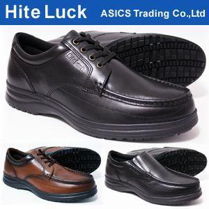 ハイテラック アシックス商事 ウォーキングシューズ メンズ IL130 IL131 本革 軽量(軽い) 3E(EEE) (24.5cm25cm25.5cm26cm26.5cm27cm)|shoes-sunnys