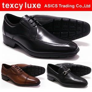 テクシーリュクス アシックス商事 ビジネスシューズ texcy luxe TU7756 TU7758 TU7763 2E相当(EE)メンズ 革靴 スクエアトゥ ASICS Trading|shoes-sunnys