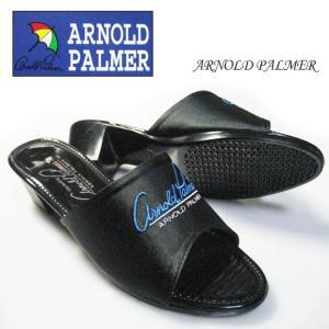 ARNOLD PALMER 6822  紳士サンダル アーノルド パーマー かかと5cm 男 ウレタン ワンヒール  身長アップサンダル! パーマー ワンヒール メンズ|shoes-vista