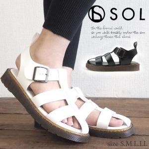 サンダル レディース SOL ソル 19836 shoesbase2nd