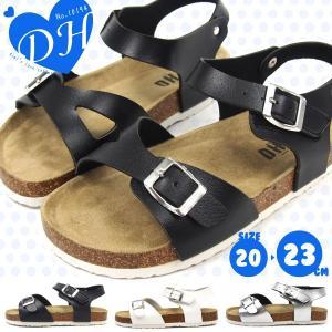 DH サンダル キッズ 全3色 10194|shoesbase