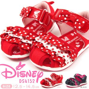 Disney ディズニー ベビーサンダル キッズ 全2色 DS4152|shoesbase