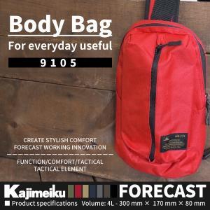 Kajimeiku カジメイク FORECAST フォーキャスト  9105 Body Bag ボディバッグ メンズ レディース shoesbase