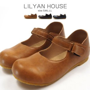 カジュアル レディース LILYAN HOUSE リリアンハウス M-251021|シューズベース