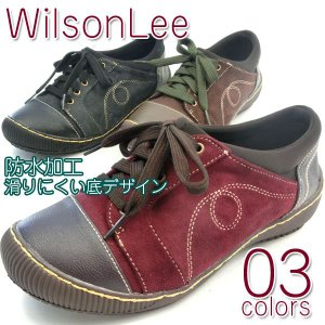 WilsonLee ウィルソンリー カジュアル レディース 全3色 SA2850|shoesbase