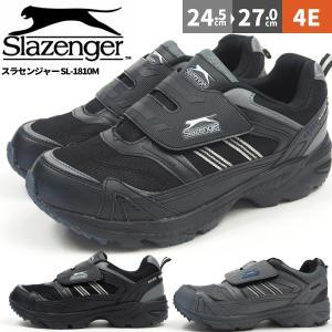 防水スニーカー メンズ スラセンジャー Slazenger SL-1810M ベルクロタイプ|shoesbase
