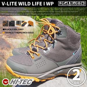 HI-TEC ハイテック ハイキングブーツ V-LITE WILD LIFE I WP メンズ|shoesbase