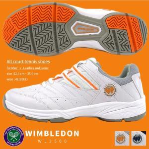 WIMBLEDON ウィンブルドン テニスシューズ レディース 全2色 WL3500 WL-3500|shoesbase