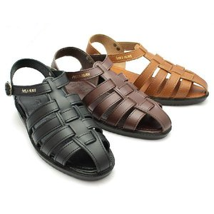 サンダル メンズ 革 サンダル レザー オフィス メンズ 皮 shoesclubc