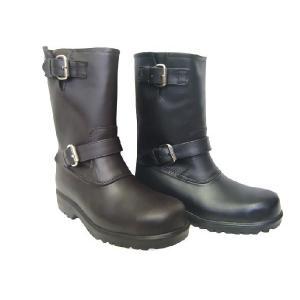 安全靴 長靴 エンジニアブーツ 防水 軽量 金属製先芯|shoesclubc