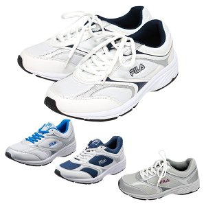 FILA スニーカー メンズ レディース ランニングシューズ ホワイト / ネイビー|shoesclubc