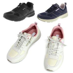 ラクウォーク RL-9167 レディースウォーキング 紐 ファスナー 幅広3E 婦人靴 カジュアルシューズ レース ジッパータイプ アシックス商事|shoesclubc