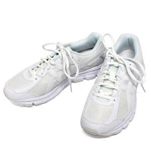 アシックス レーザービーム ランニングシューズ asics TKB101 ホワイト  レディース ジュニア キッズ ジョギングシューズ 軽量