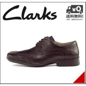 クラークス ビジネスシューズ メンズ フランシスエア 本革 スワローモカ レースアップ 軽量 G Clarks 20352651 ブラックレザー|shoesdirect