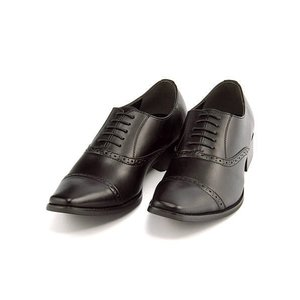 ビジネスシューズ メンズ ロングノーズ ストレートチップ 3E 幅広 フランチェスコビガーリ Francesco Bigagli FB205 ブラック|shoesdirect