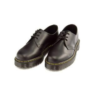 ドクターマーチン ポストマン シューズ メンズ CORE 1461 ベックス 3 ホール シューズ Dr.Martens 21084001 ブラックスムース shoesdirect