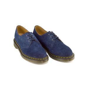ドクターマーチン ポストマン シューズ メンズ 3 ホール シューズ CORE 1461 3 EYELET SHOE Dr.Martens 22739403 インディゴソフトバック shoesdirect