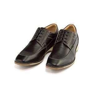オックスフォードシューズ メンズ レースアップ Uチップ モディーヌーボー Modi Nouveau 46490 ブラック shoesdirect