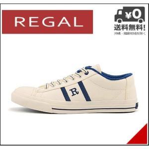 リーガル ローカット スニーカー メンズ キャンバス EE REGAL 65HRL ネイビー|shoesdirect