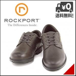 ロックポート メンズ ウォーキングシューズ 本革 3E ラギッドバックスウォータープルーフプレーントゥ ROCKPORT V78375 D