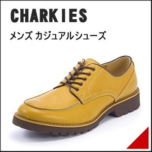 CHARKIES(チャーキーズ) メンズ カジュアルシューズ 101606 サンド|shoesdirect