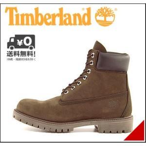 ティンバーランド ブーツ メンズ アイコン 6インチ プレミアム ブーツ ICON 6inch PREMIUM BOOT Timberland 10001 ミディアムブラウンヌバック shoesdirect